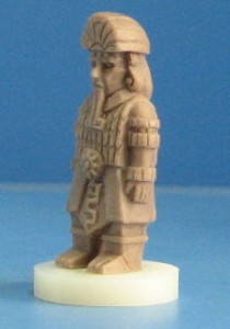 Aztlán Pawn Prototype (photo by Ares Games)