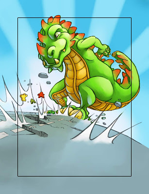 Rampage (illustration by Pierô)