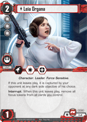 Star Wars: The Card Game (Image by Fantasy Flight Games)