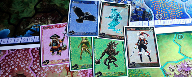 Mage Company are currently running a Kickstarter campaign for their coming release of 12 Realms. This is not a completely new title, 12 Realms by Ignazio Corrao already had a successful start as a Print-and-Play game with Golden Geek nomination in 2011. The PnP edition looks very good already, vividly […]