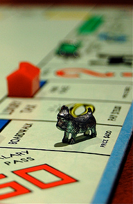 Monopoly Terrier (Photo by Rich Brooks, CC-BY)