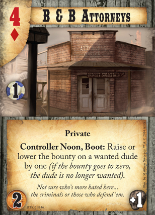 Doomtown: Reloaded (Image by Alderac)