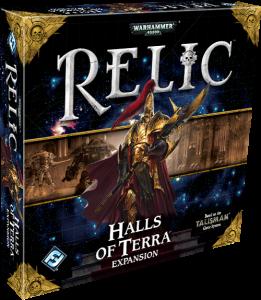 Relics: Halls of Terra (Image by Fantasy Flight Games)