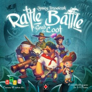Rattle, Battle, Grab the Loot (Image by Portal Games)