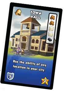 Town Hall (Dice City, image by Alderac)