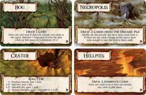 Terrain Cards (Talisman: The Harbinger, Image by Fantasy Flight Games)