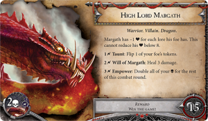 High Lord Margath (Runebound, Image by Fantasy Flight Games)
