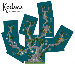 Kodama: The Tree Spirits (Image by Action Phase Games)