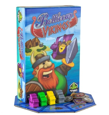Bottlecap Vikings (Image by Tasty Minstrel Games)