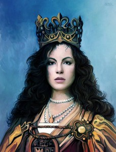 Queen Jadwiga of Poland (Saints and Sinner, image by Historical Games Factory)