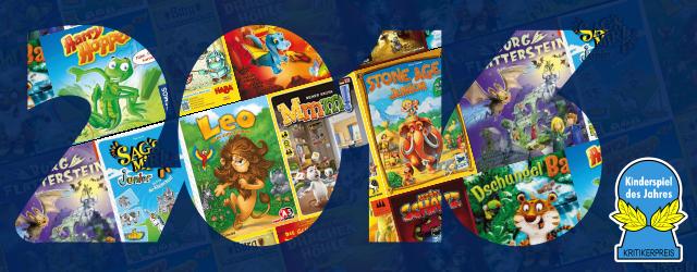 Kinderspiel des Jahres 2016 - The Nominees