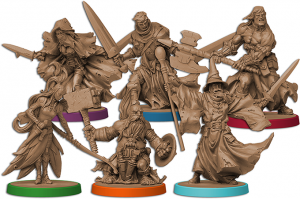 The Heroes (Massive Darkness, Image by CMON)