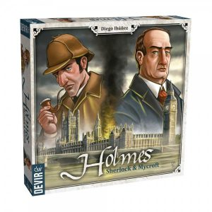 Holmes: Sherlock & Mycroft (Image by Devir)