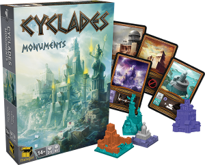 Cyclades: Monuments (Image by Asmodee)