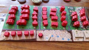 Prototype Player Board (Photo provided by Juma Al-JouJou)