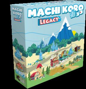 Machi Koro Legacy (Pandasaurus Games)
